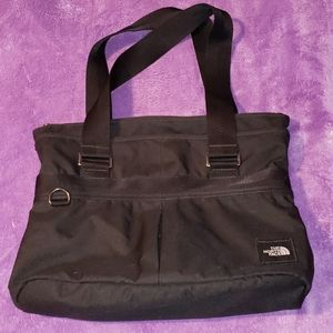 The North Face Tote Bag Day Bag Purse Black